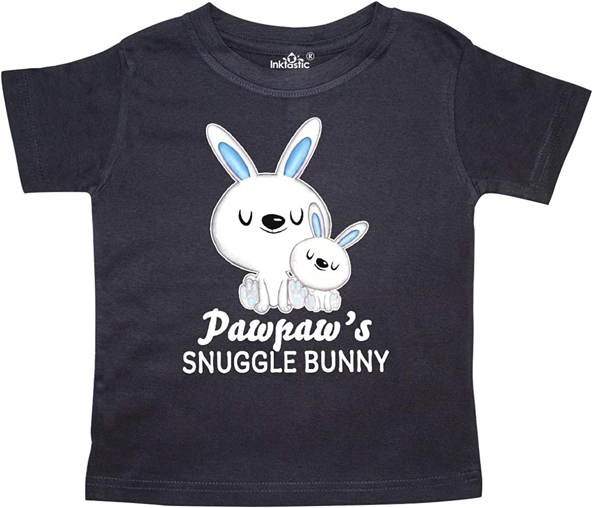 inktastic Pawpaws Snuggle Bunny Easter Toddler T-Shirt
