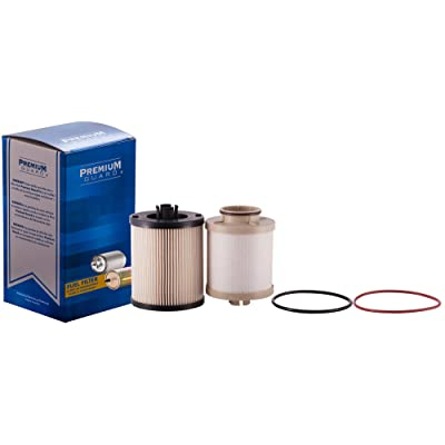 PG Diesel Fuel Filter DF4609A | Fits 2008-10 Ford F-250 Super Duty, 2008-10 F-350 Super Duty: Automotive