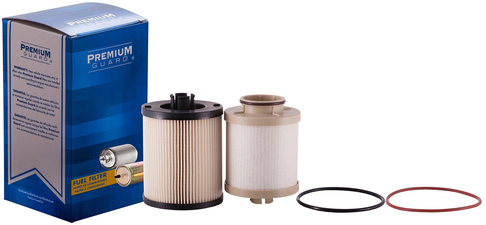 PG Diesel Fuel Filter DF4609A | Fits 2008-10 Ford F-250 Super Duty, 2008-10 F-350 Super Duty by Premium Guard