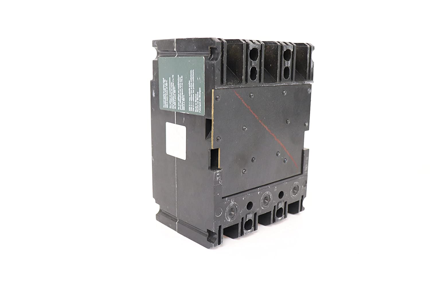 SCHNEIDER ELECTRIC FAL34100 Molded Case Circuit Breaker 480-Volt 100-Amp  480V 100A - Thermal Magnetic Circuit Breakers - Amazon.com