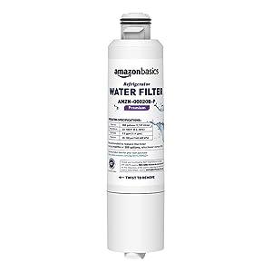 AmazonBasics Replacement Samsung DA29-00020B Refrigerator Water Filter - Premium Filtration