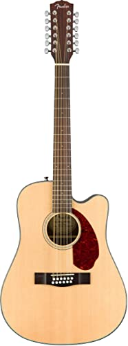 Fender CD-140SCE-12 Dreadnought Acoustic-Electric Guitar - 12 String