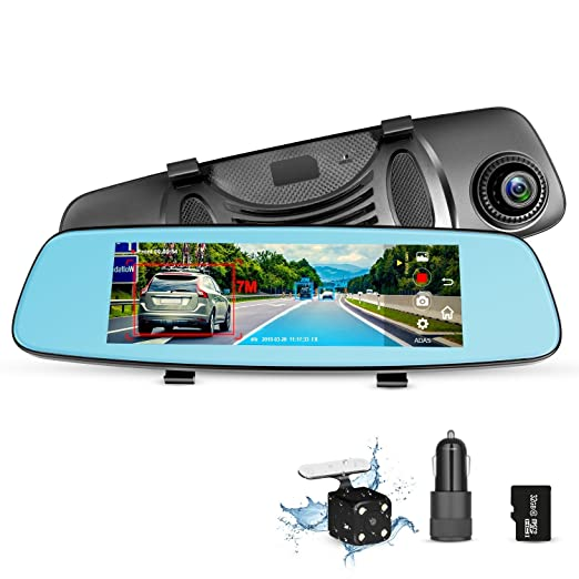 Review ZUMIMALL Dash Cam Rear