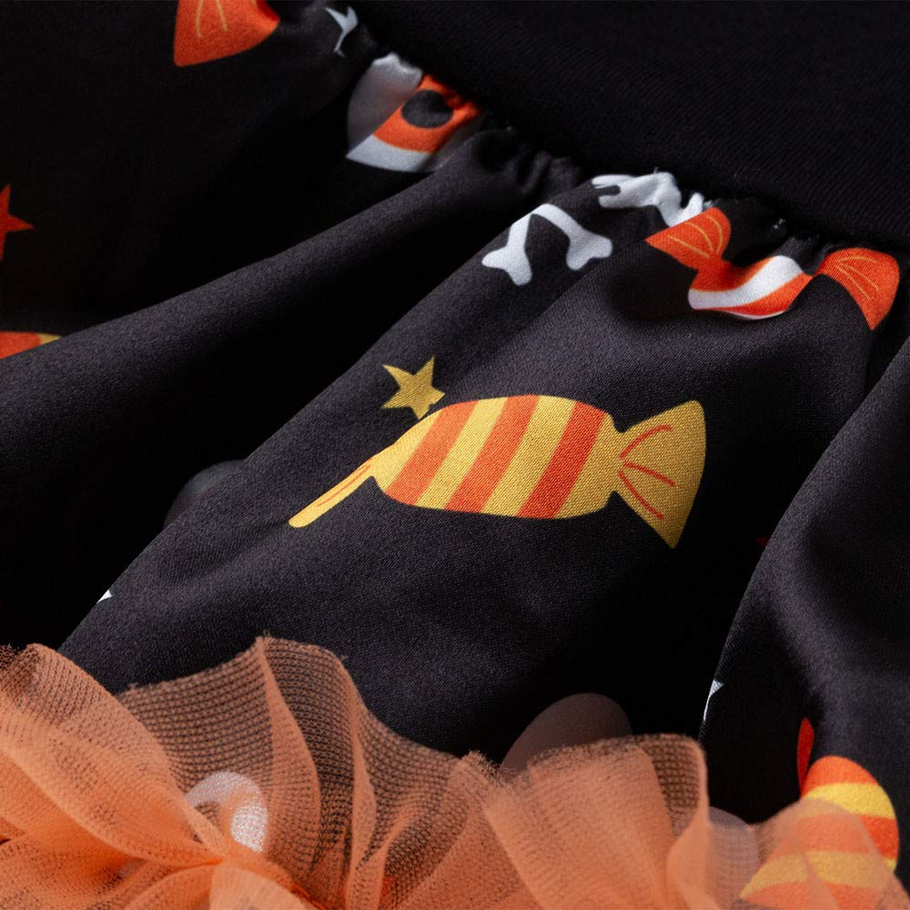 Baby Unisex Cartoon Cute Trick Or Treat Pumpkin Print Romper Jumpsuit Bodysuit Summer Sleeveless