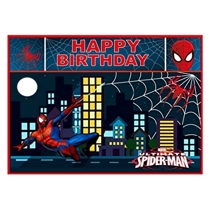 Party Propz Spiderman Wallpaper 5x7 Feet