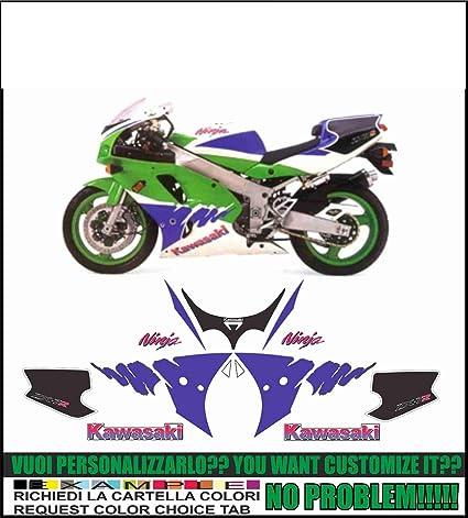 Emanuel & Co Kit adesivi Decal stikers Kawasaki ZX ILCE-7R ...