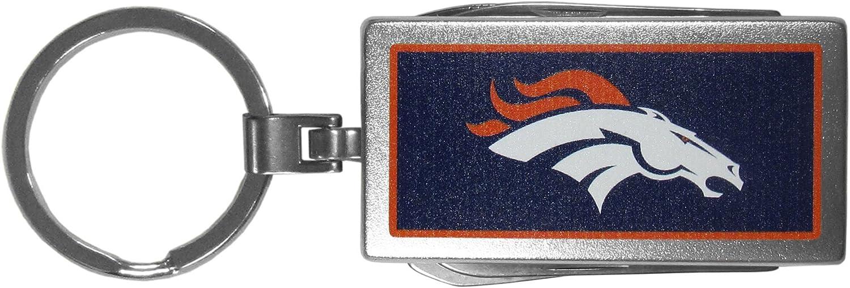 Siskiyou NFL Unisex Multi-Tool Key Chain; Logo