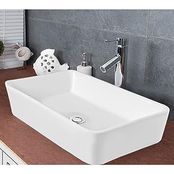 Waschbecken ECKIG/Badezimmer Handwaschbecken/Aufsatzwaschbecken ...