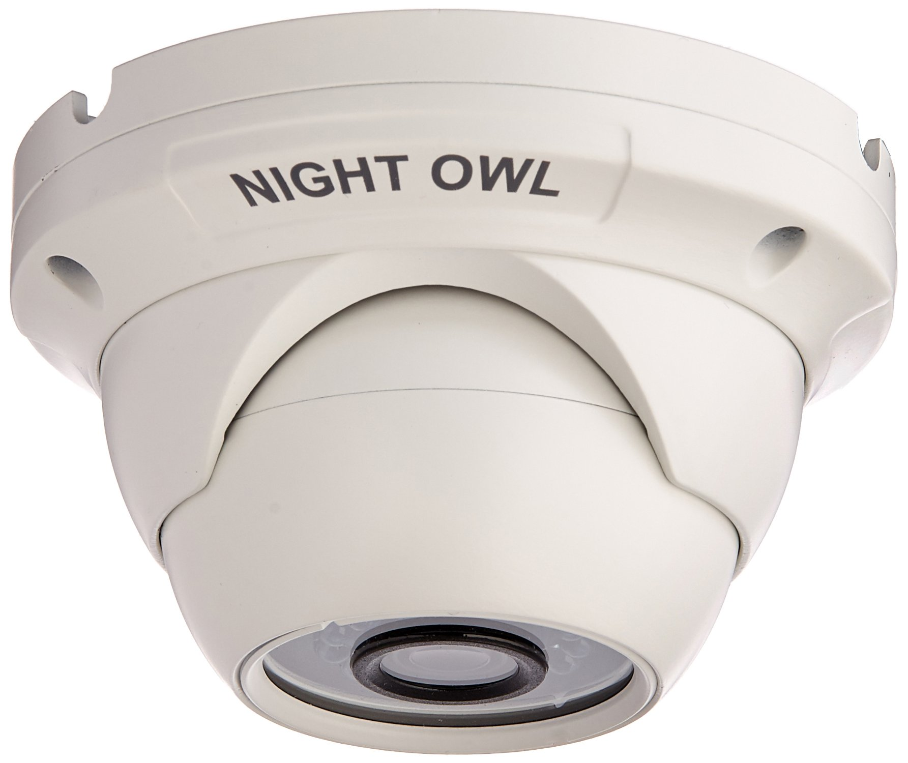 Night Owl Security, 1 Pack Add-On 1080p HD Wired Security Dome Camera - Audio Enabled (White) by Night Owl Security