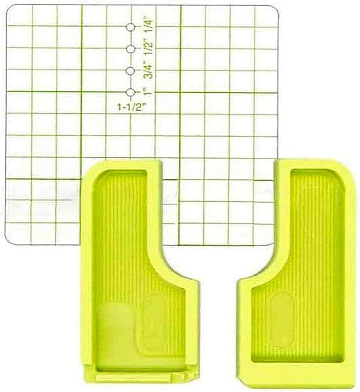75 /× 75 /& Positionierungsplatte Nahtf/ührung f/ür N/ähmaschine N/ähen Positionierplatte N/ähen Stichf/ührung N/ähmaschinersatzteile Zubeh/ör 3 St/ück f/ür N/ähmaschine DIY Fixierung Stoffe Stichf/ührung