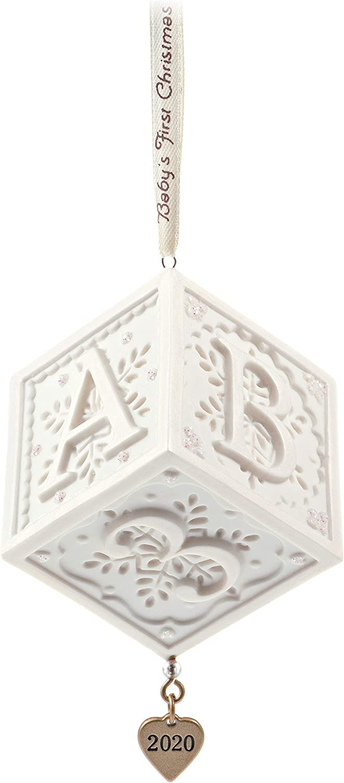 Hallmark Keepsake 2020 Year Dated Ornament, Baby's First Christmas