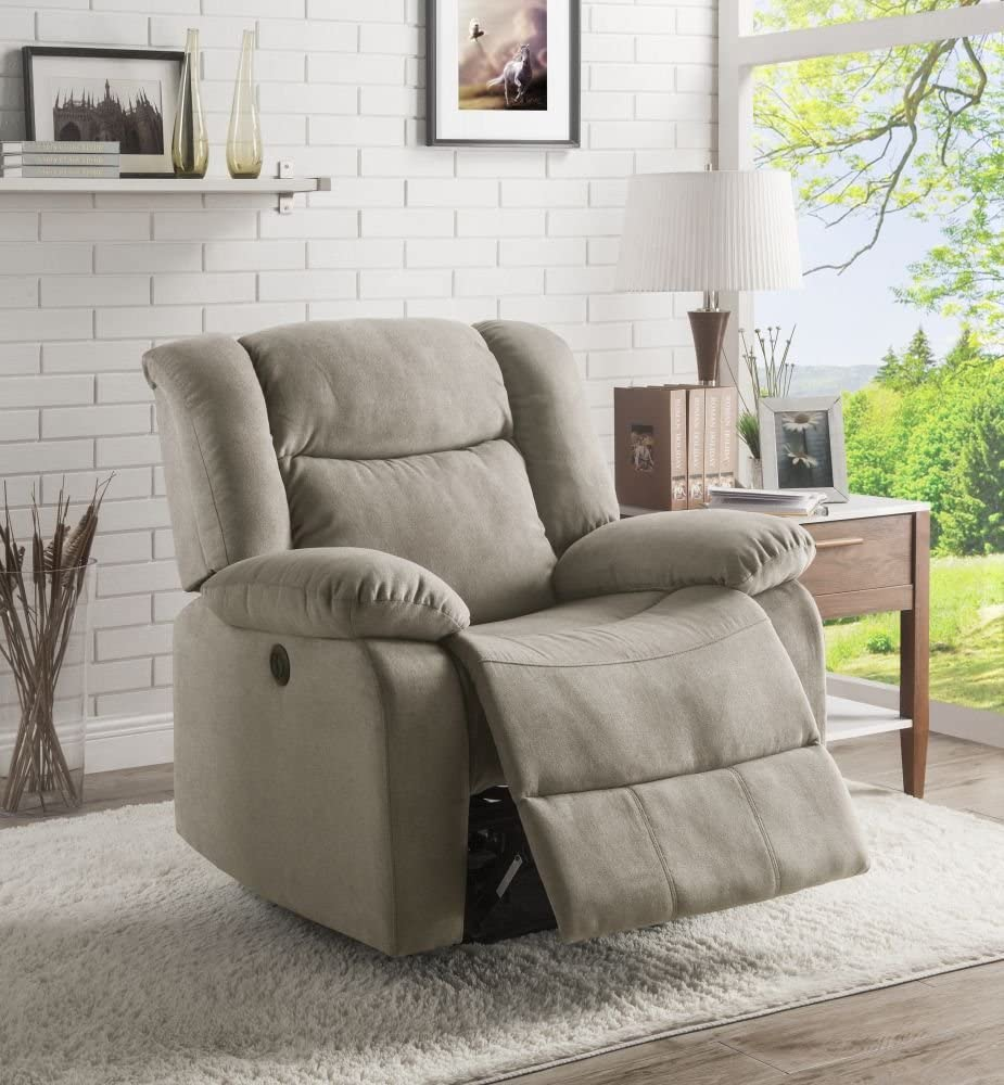 Lifestyle wall hugger recliner for small spaces