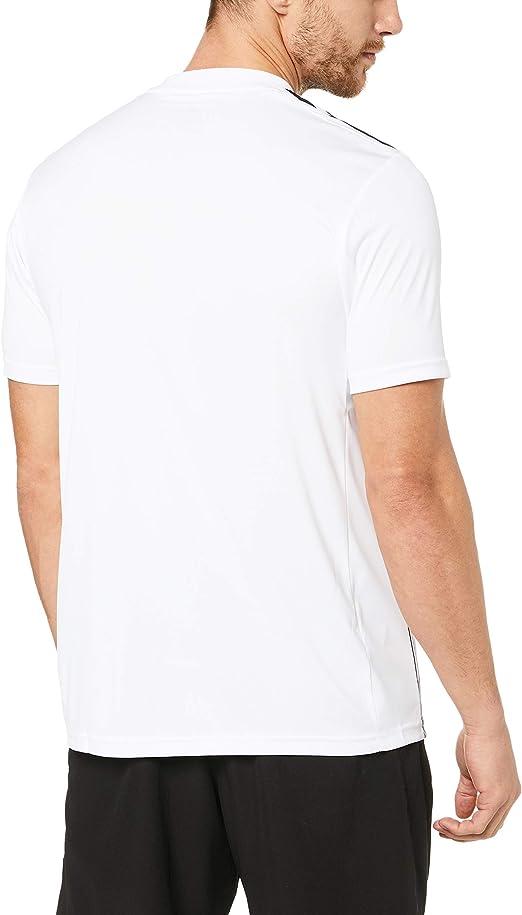 adidas Striped 19 JSY Camiseta de Manga Corta, Hombre: Amazon.es ...