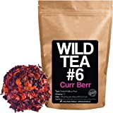 Berry Blend Herbal Tea with Hibiscus, Elderberry, Currant and Cranberry by Wild Foods Co (4 ounce)