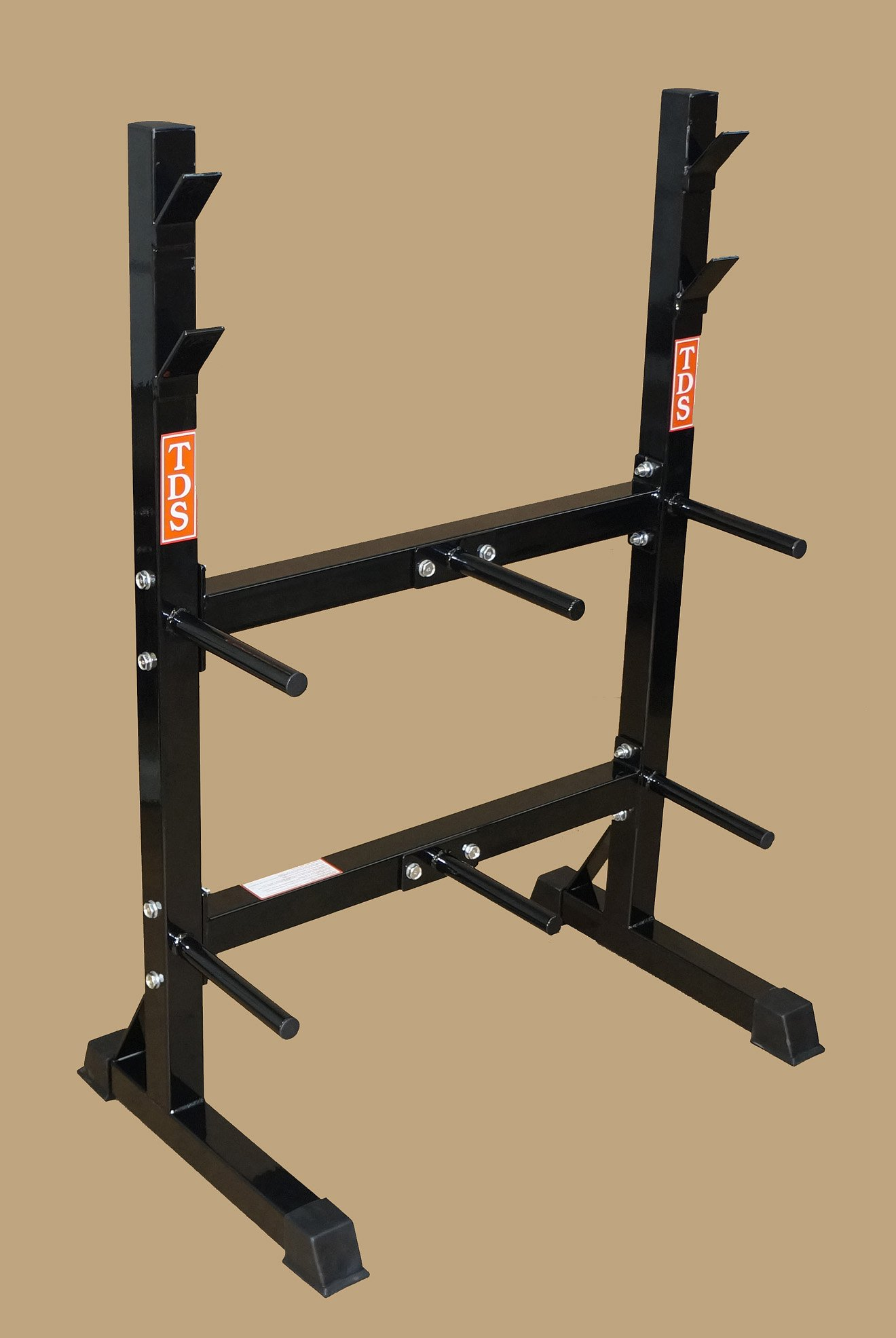 TDS-Front Loading Rack System for Standard Plates & Bars by TDS