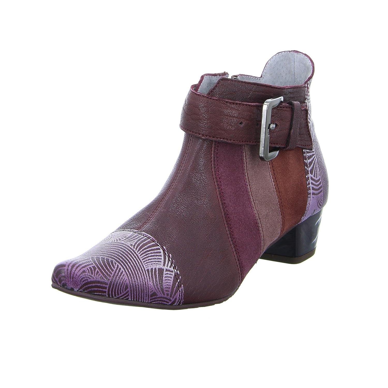 Maciejka Damen 03138-23 Damen Maciejka Stiefelette Ankle-Stiefel Leder  Bordeaux Rot - a71c32 e207e9374c