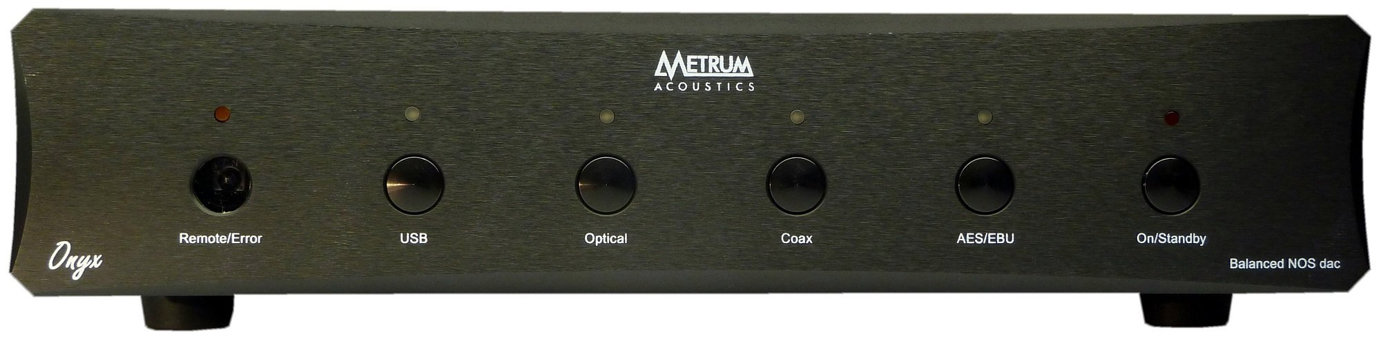 Metrum Acoustics ONYX Balanced non-oversampling DAC with remote (Black)