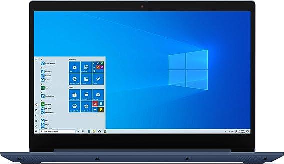 """Amazon.com: 2020 Lenovo IdeaPad 3 15"""" ordenador portátil, AMD Ryzen 5 3500U Quad-Core procesador, 8GB memoria, 256GB unidad de estado sólido, Windows 10, Abyss azul, 81W1009DUS (Google Classroom Compatible): Computers & Accessories"""