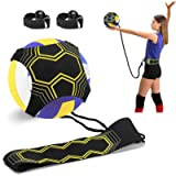 Volleyball Training Equipment Aid, Solo Soccer Trainer, Solo Practice Trainer for Serving, Setting, Spiking and Arm…