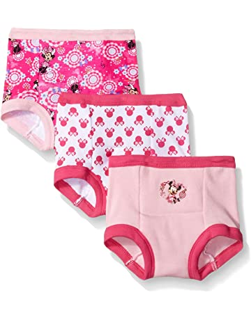 52b7069cb1c7 Disney Minnie Mouse Girls' 3-Pack Training Pants & Chart Set