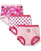 Disney Baby-Girls' Minnie 3 Pack Training Pant