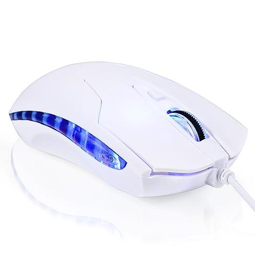 428 opinioni per CSL- Mouse ottico 2400dpi Gaming USB SM610   design ergonomico   LED blu   6