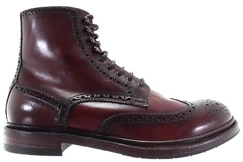PANTANETTI Scarpe Uomo Ankle Boot 11940E Bisonte Old Brandy Brogue 890  Marron IT c1451f08977