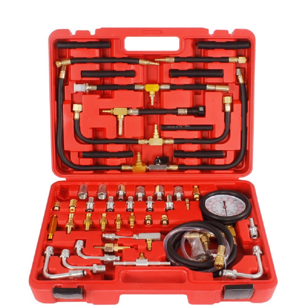 MRCARTOOL TU-443 Multifunction Fuel System Pressure Gauge fuel Injection Pressure Test Gauge Automotive Fuel Pressure Testers