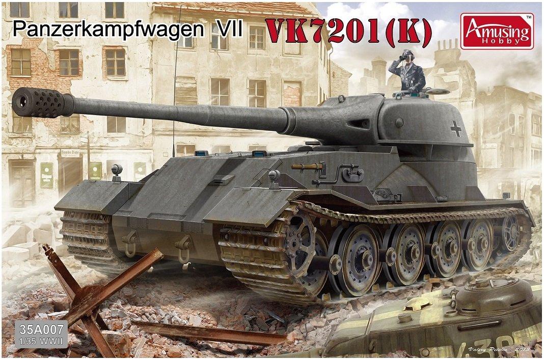 アミュージングホビー 1/35 軽レーヴェ VK7201 K プラモデル B00OH1YGG2