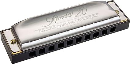 Key Of G Hohner 560//20 Special 20 Progressive Harp Harmonica
