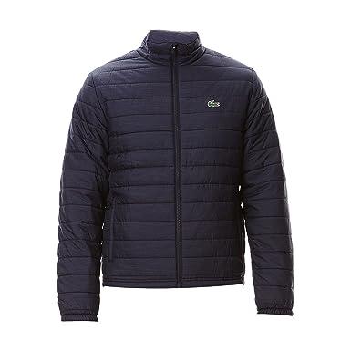 87b8d52655 Lacoste - Manteau imperméable - Doudoune - Homme Bleu Bleu Marine 50:  Amazon.fr: Vêtements et accessoires