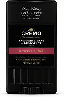 product image for Cremo Reserve Blend Anti-Perspirant & Deodorant, Long-Lasting Sweat & Odor Protection, 2.65 Oz, 1 Oz