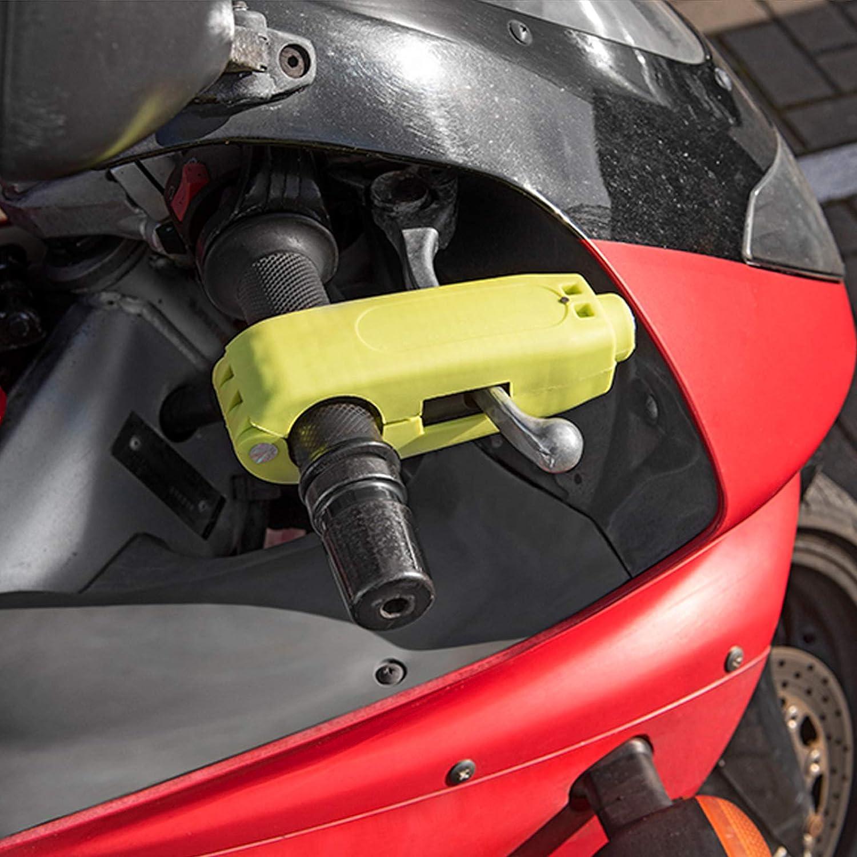 Ebike Roller Hebelschloss f/ür Motorrad 27-38mm Lenkerdurchmesser Neon
