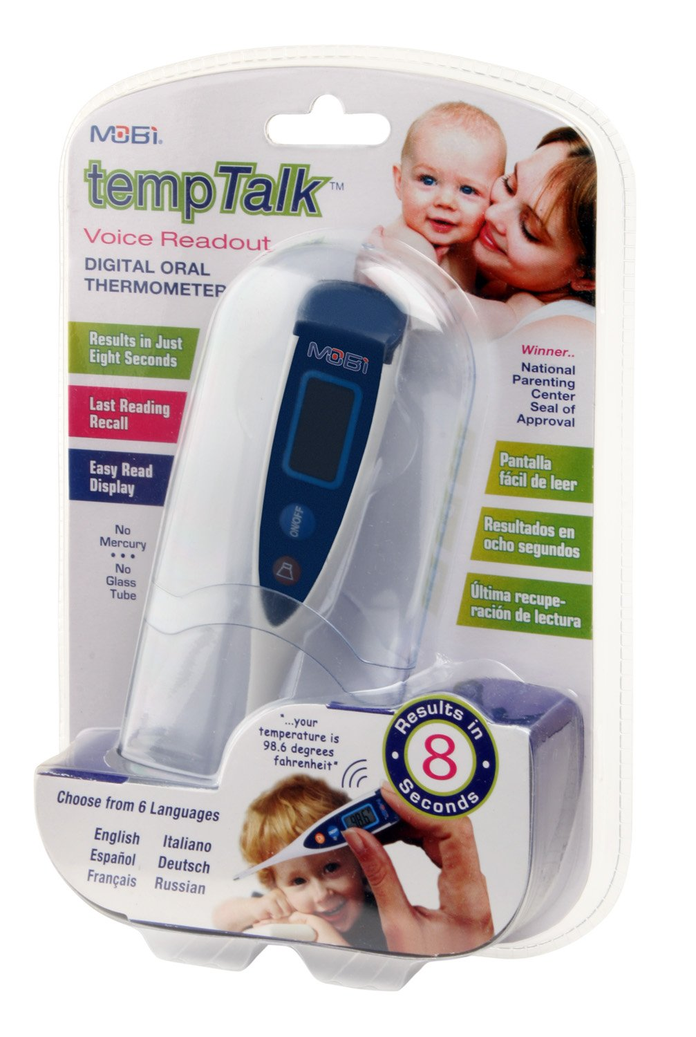 Amazon.com : MOBI TempTalk Digital Oral Thermometer (Discontinued by Manufacturer) : Bathtub Thermometers : Baby