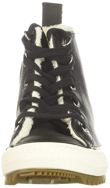 Converse Ctas Hiker avvio Hi nero Egret Gum, Gum, Gum, scarpe da ginnastica a Collo Alto Donna | Nuovo design  42a447
