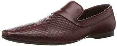 Franco Leone Men's Brown Leather Formal Shoes - 10 UK/India (44 ...
