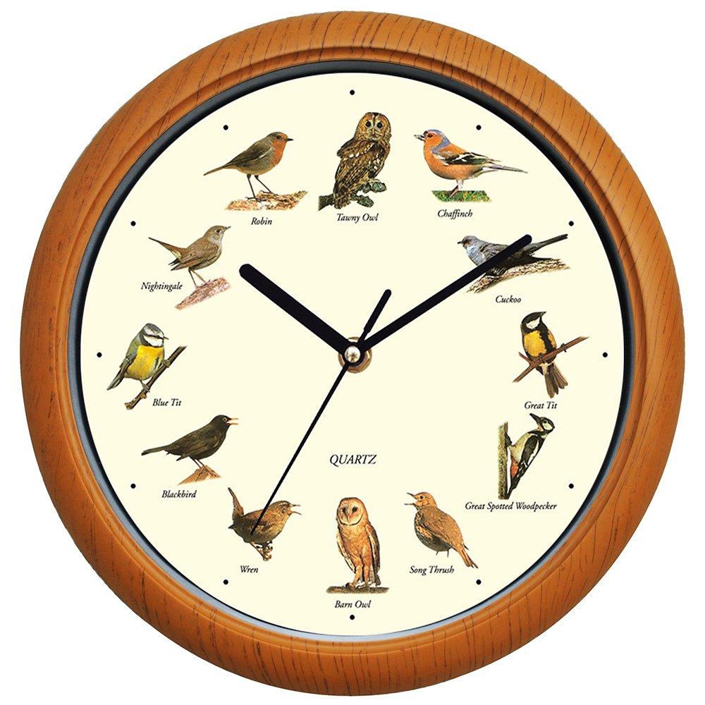 Benail 12 Inch Bird Song Wall Clock