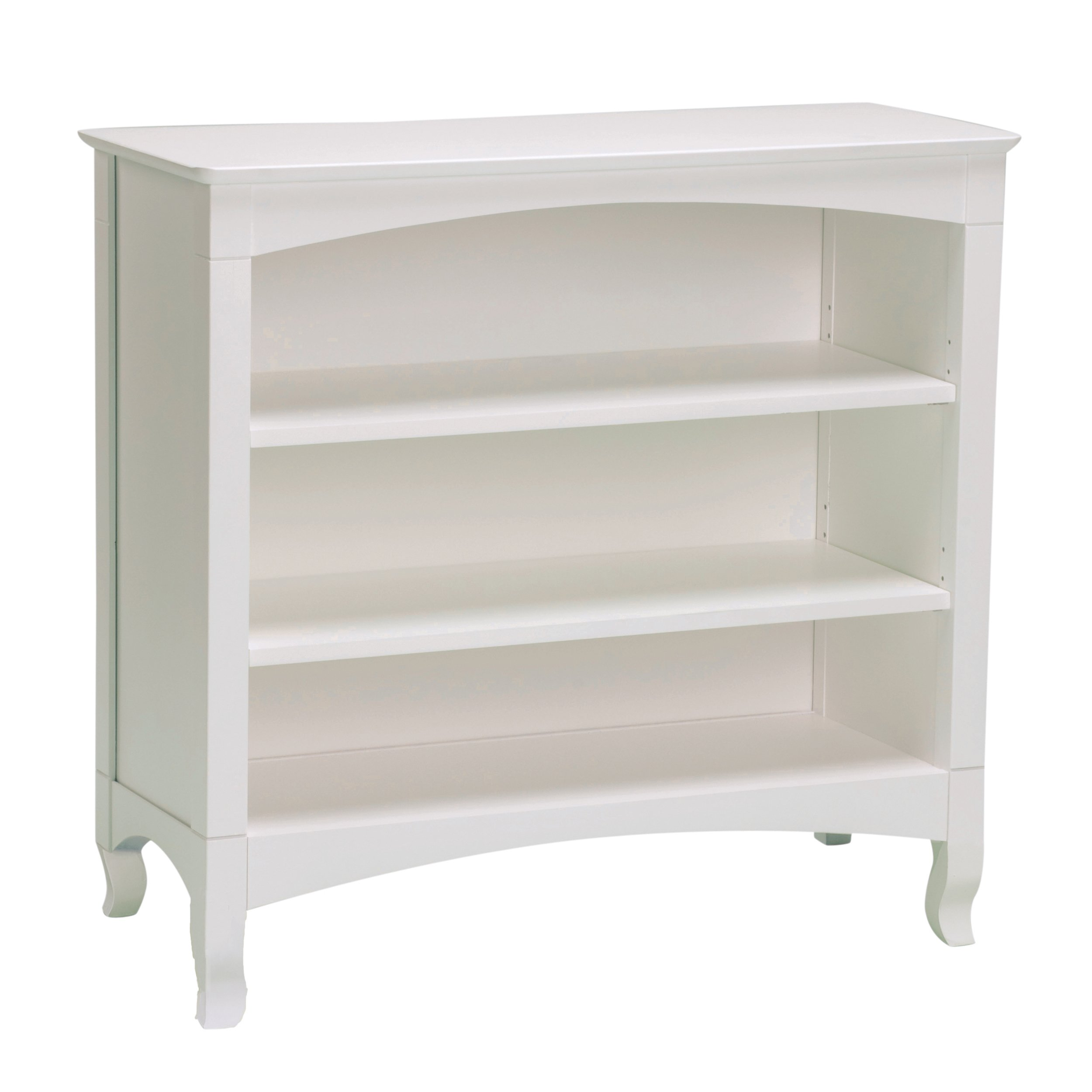 Bolton 8365500 Emma Low Bookcase, White