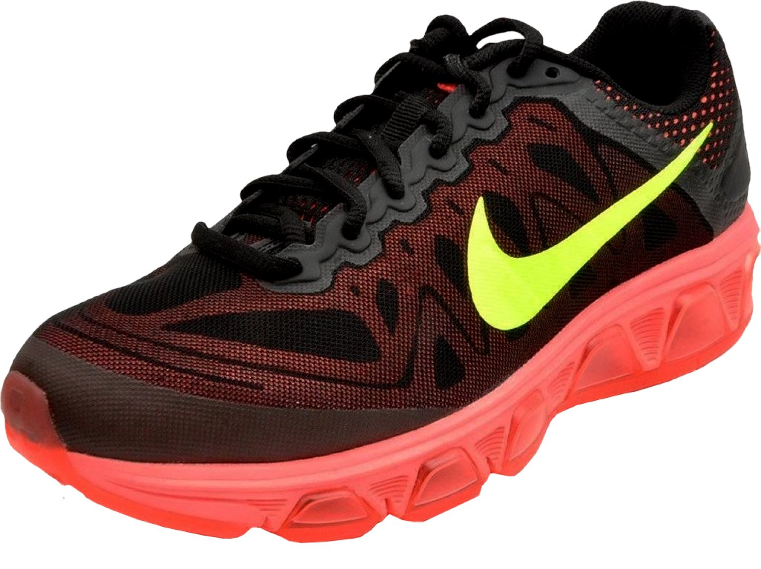 nike Air Max Tailwind 7 mens Running Trainers 683632 Sneakers Shoes (12 B(M) US, black volt hot lava lava glow 010)