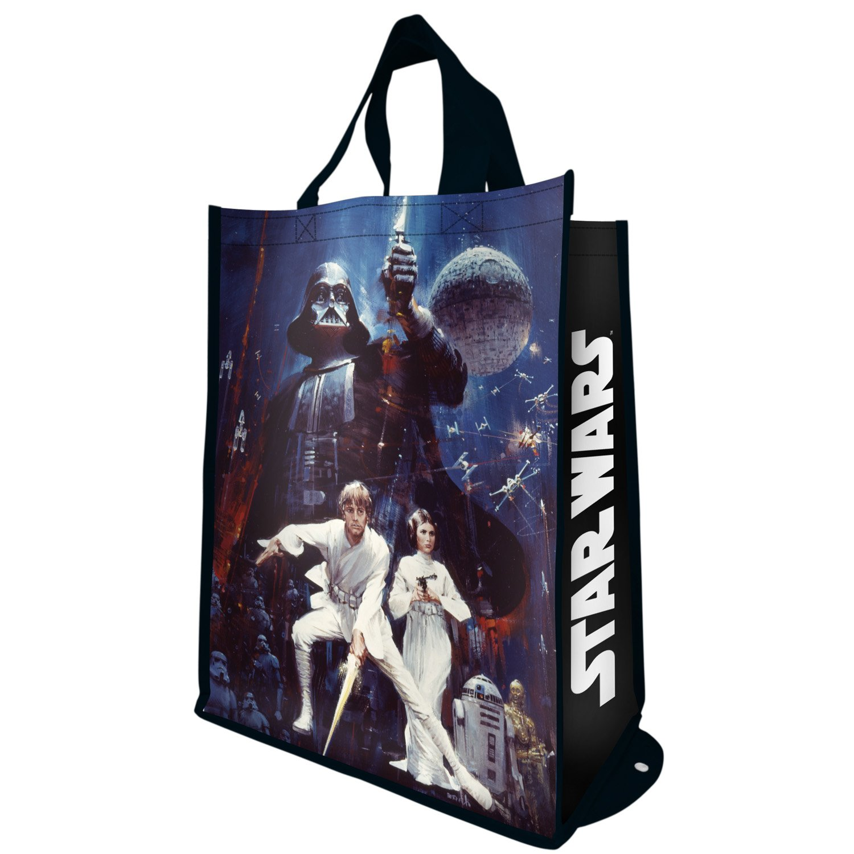 Tote Bag - Star Wars - Packable Shopper Hand Purse New Licensed 99076 B00QJUNPR0