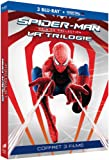 Trilogie Spider-Man - Collection Origines : Spider-Man 1 + Spider-Man 2 + Spider-Man 3 [Blu-ray + Copie digitale]