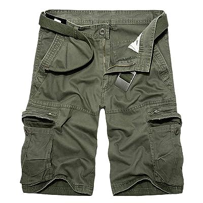 Itemnew Men's Tactical Outdoor Ripstop Multi-Pockets Summer Cargo Work Shorts   Amazon.com