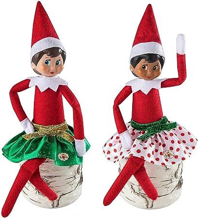 Amazon.com: The Elf on the Shelf Vestimenta de Santa Claus ...
