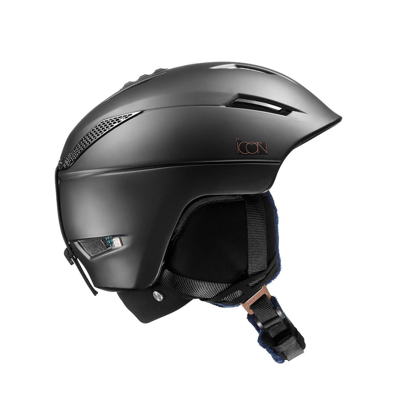 SALOMON(サロモン) スキーヘルメット ICON² C. AIR (アイコン シー エアー) Black レディース L39124100 S~Mサイズ B01LC1I2GE   Small