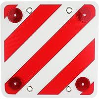 MOLCAR Panel Reflector Trasero para señalización de Cargas,Cuadrada