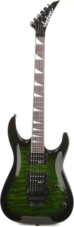 Jackson JS Series Dinky Arch Top JS32Q DKA Electric Guitar Transparent Green Burst