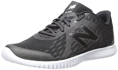 New Balance Women's Flexonic WX66V2 Training Cross-Trainer Shoe, Black/Silver,  7.5