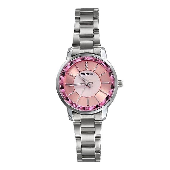 Reloj mujer lancardo reloj cuarzo reloj pulsera reloj Original pulsera inoxidable reloj Mujer pas barato etanche