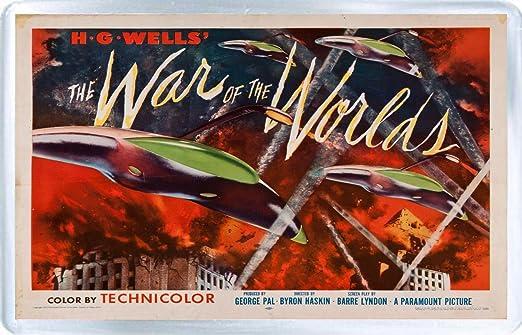 Guerra de los mundos - Imán para nevera A: Amazon.es: Hogar