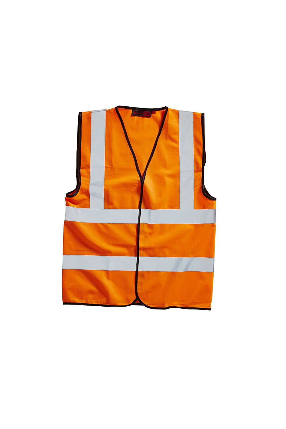 Orange 2XL Blackrock Herren-Warnweste